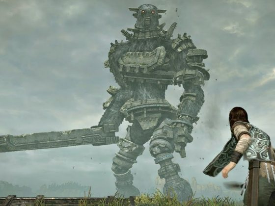Gaius in Shadow of the Colossus Remake