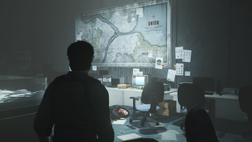Evil Within 2 Union Map