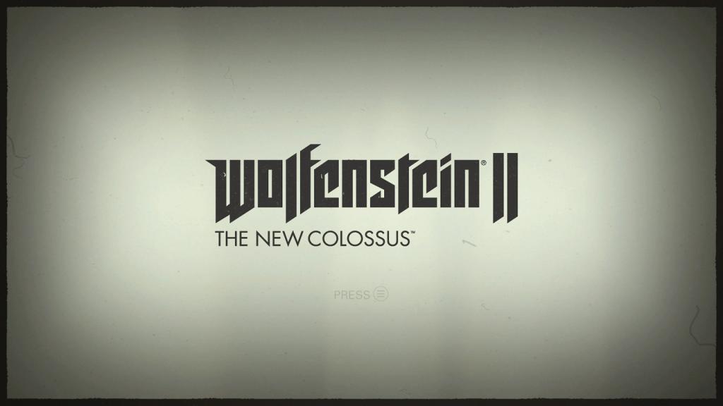 Wolfenstein 2 Title
