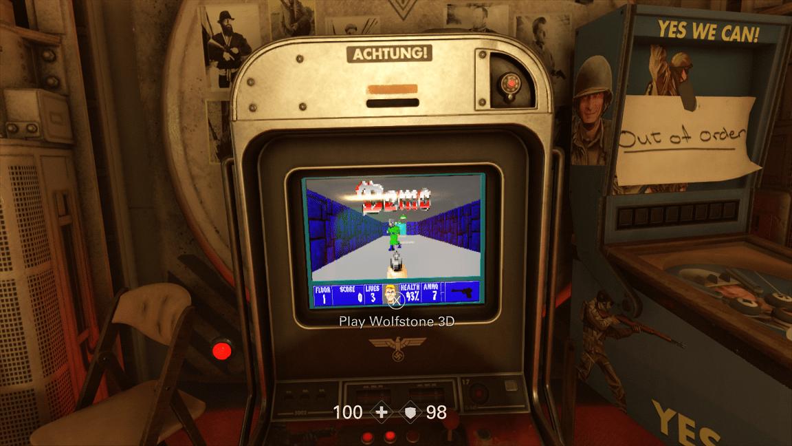 Wolfenstein 2 Cabinet