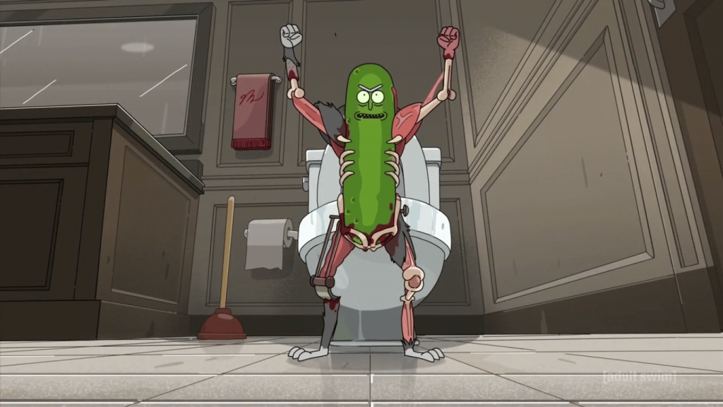 Rick and Morty Pickle Rick