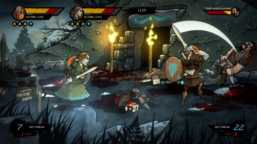 Wulverblade Nintendo Switch