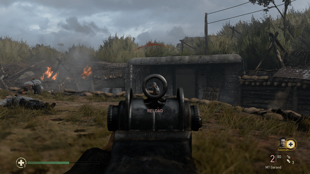 Call of Duty: WWII Aiming