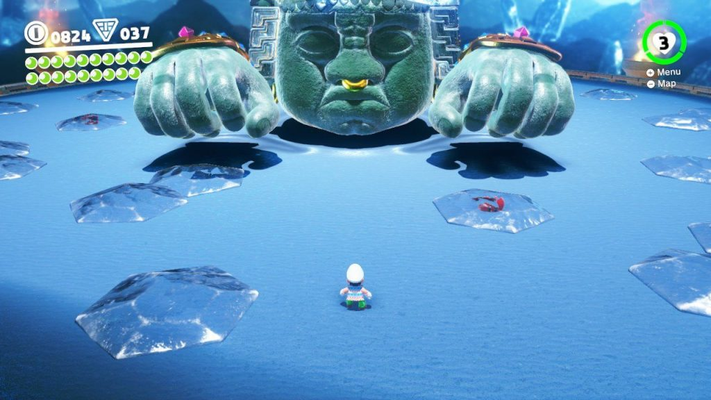 Super Mario Odyssey Boss