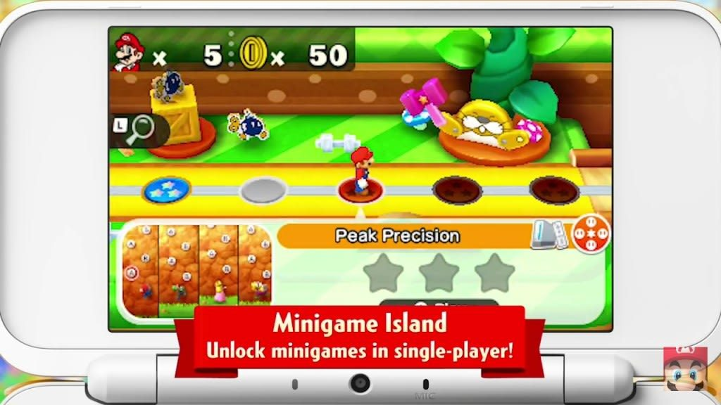 Mario Party MInigame Island