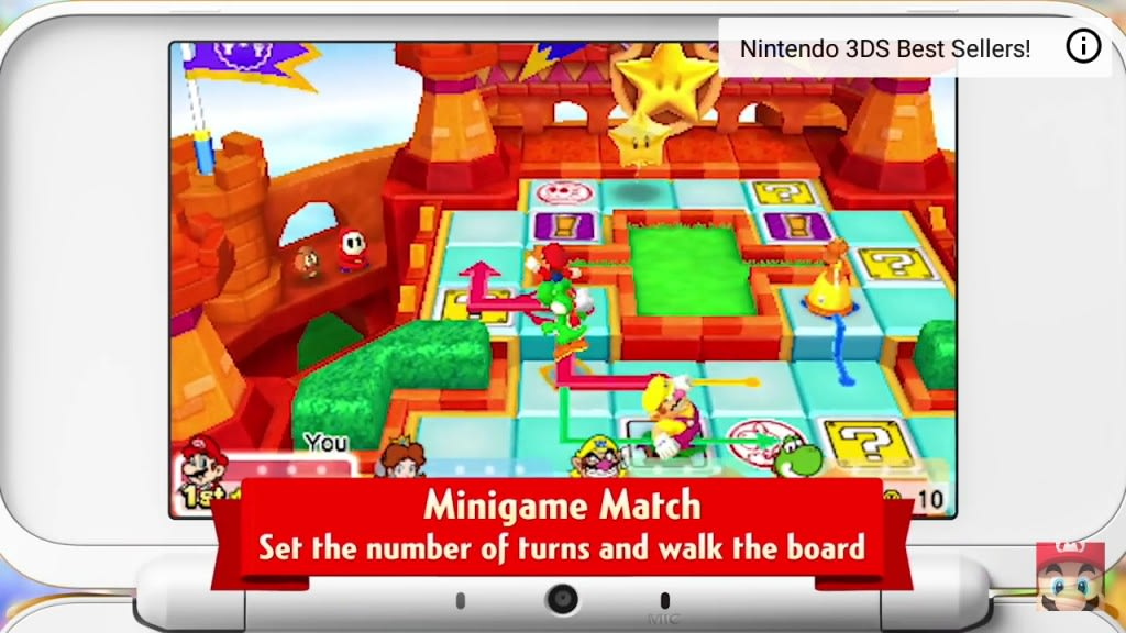 Mario Party Minigame Match