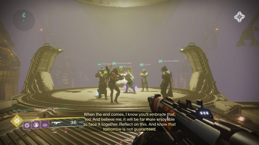 Curse of Osiris Raid Group