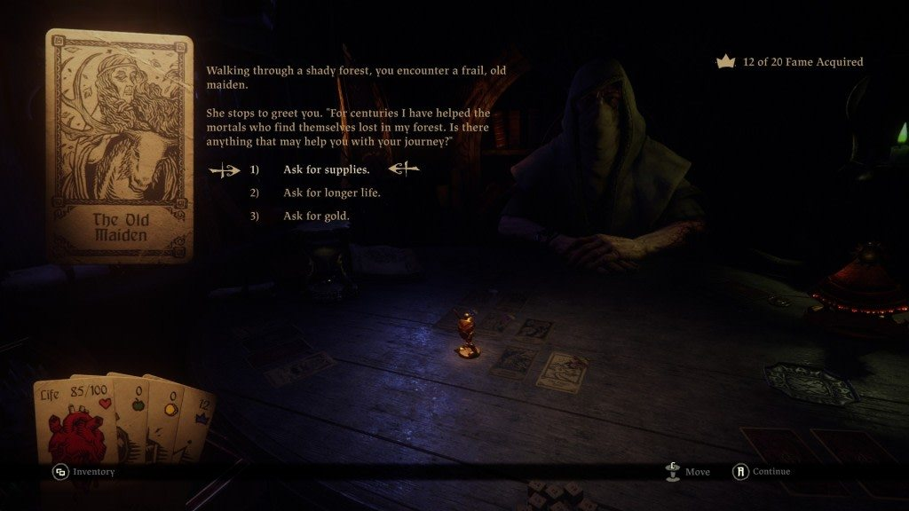 Hand of Fate Maiden