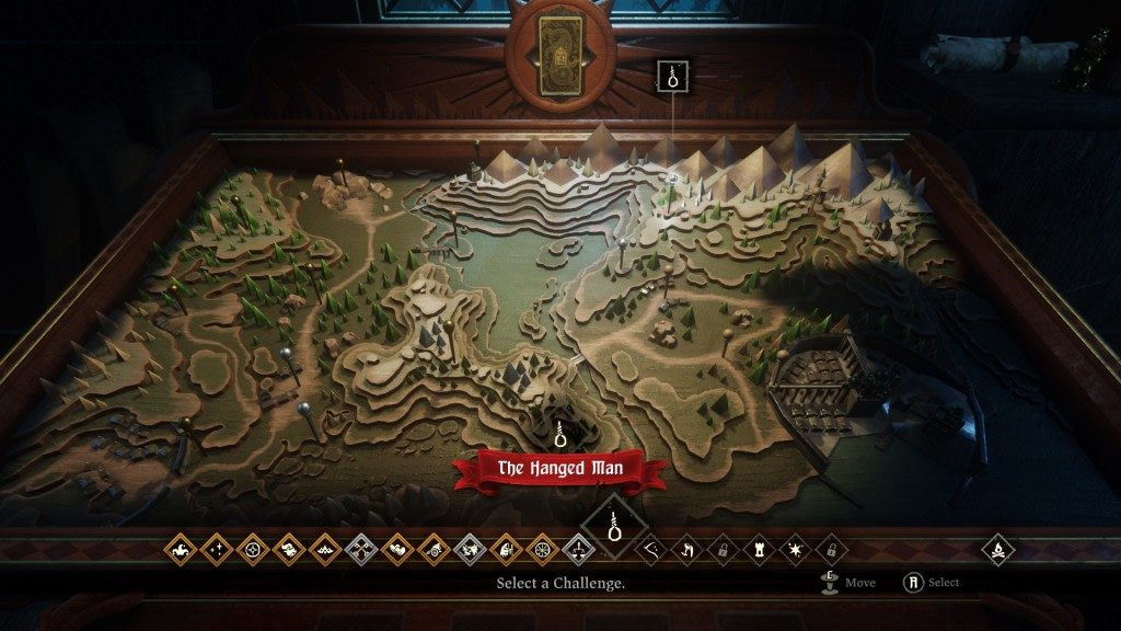 Hand of Fate Map