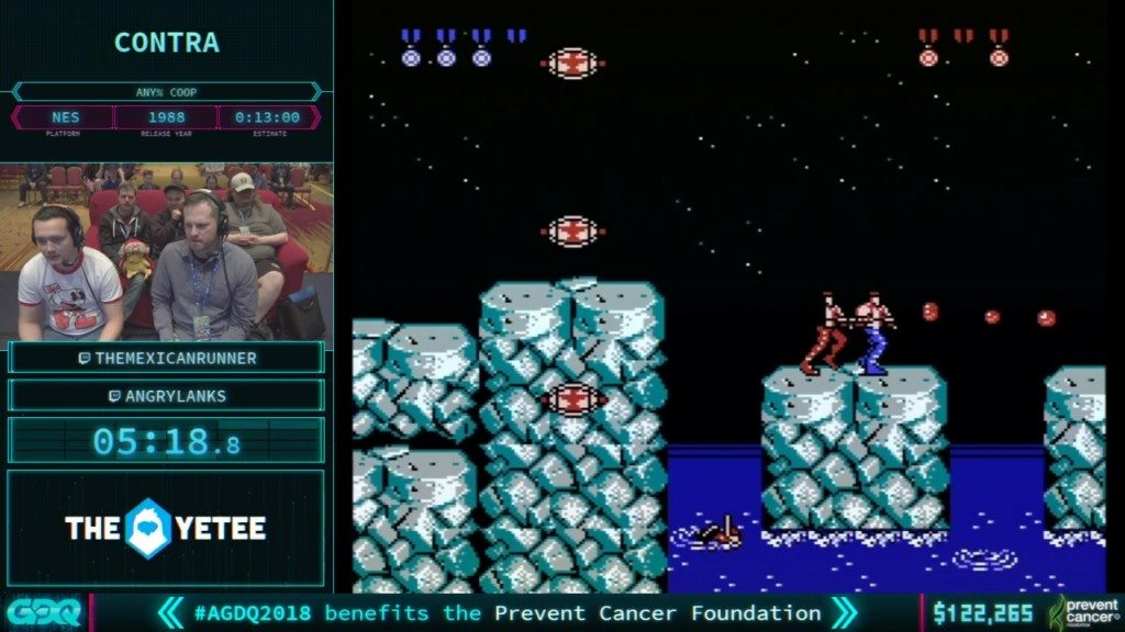 AGDQ 2018 Contra