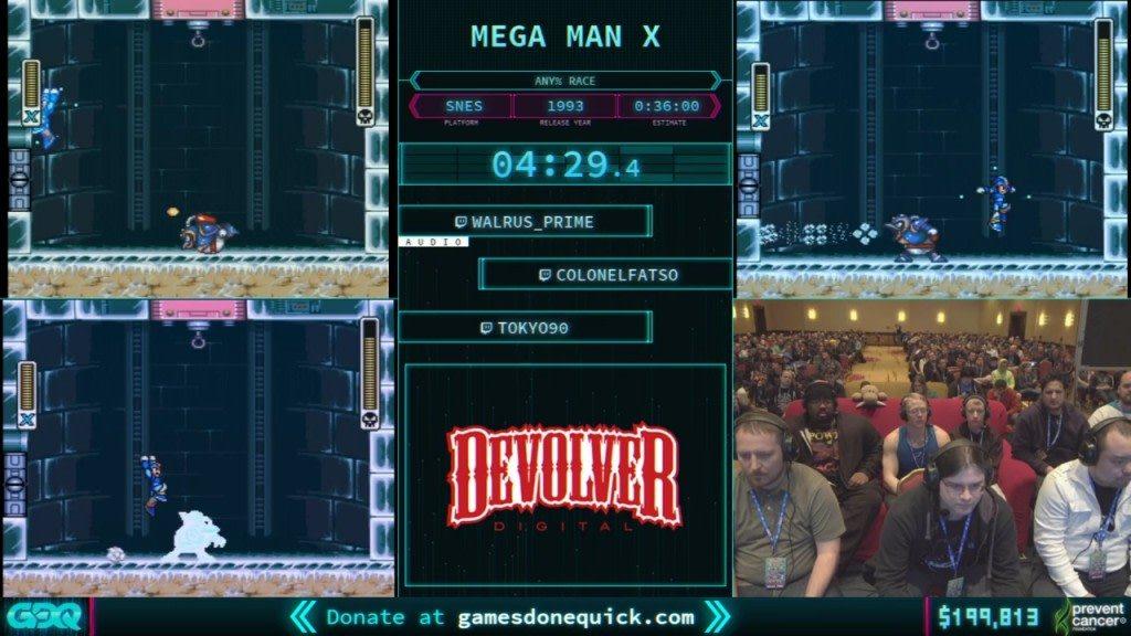 AGDQ 2018 Mega Man X