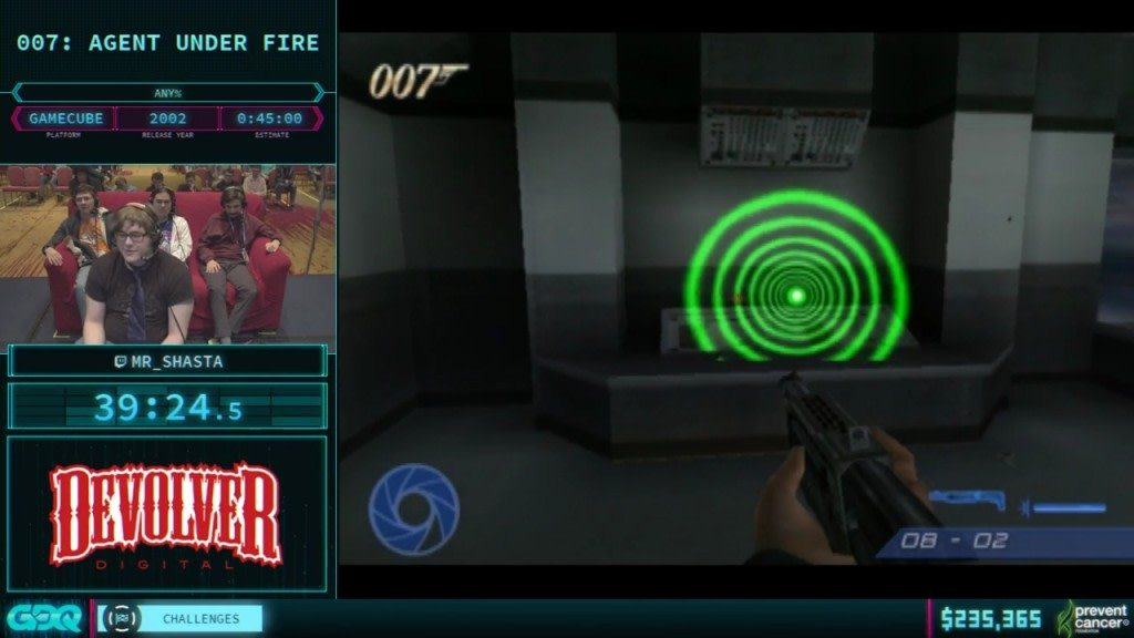 AGDQ 2018 Agent Under Fire
