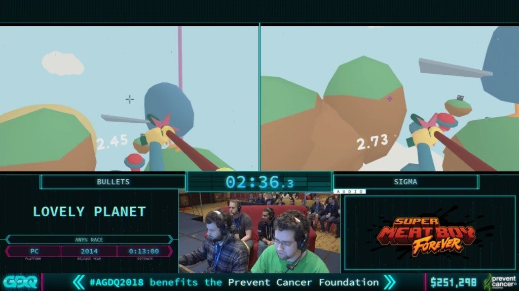 AGDQ 2018 Lovely Planet
