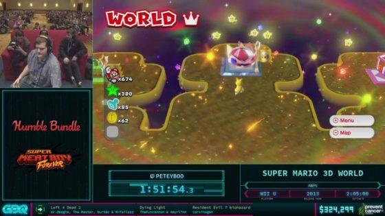 AGDQ 2018 Super Mario 3D World