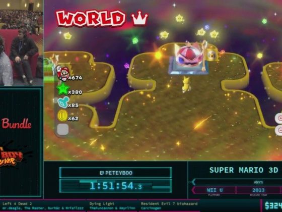 AGDQ 2018 Super Mario 3D World