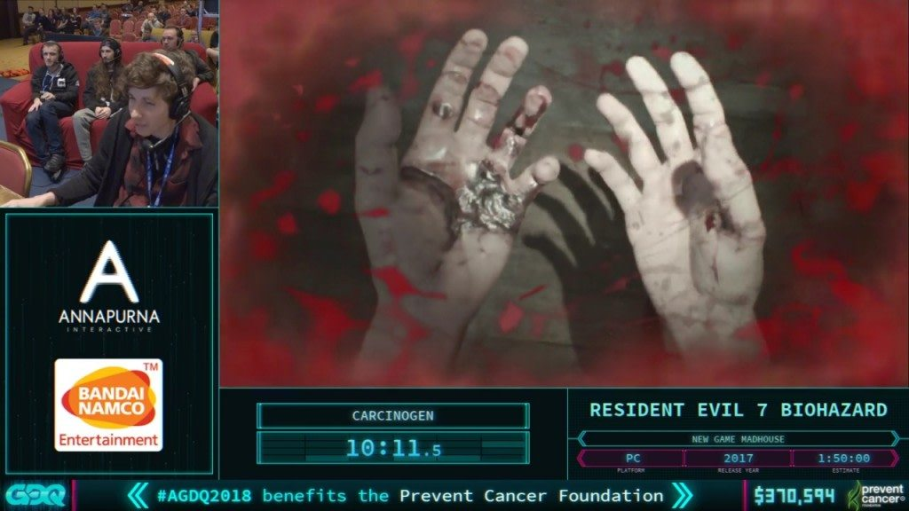 AGDQ 2018 RE7