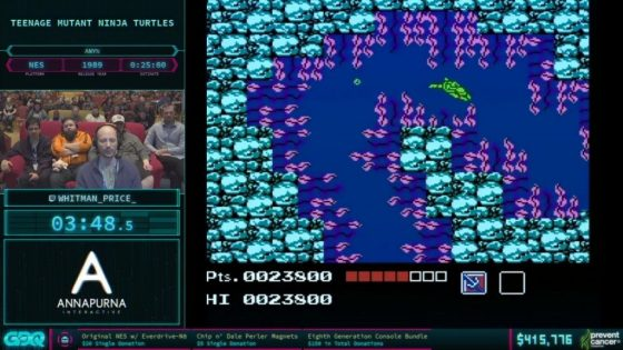 AGDQ 2018 TMNT