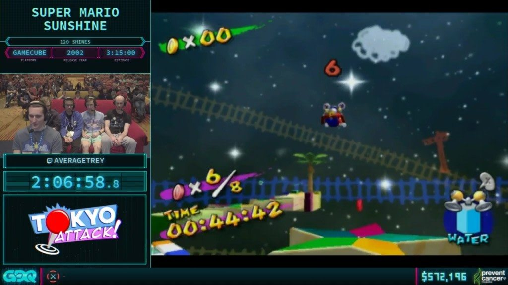 AGDQ 2018 Super Mario Sunshine