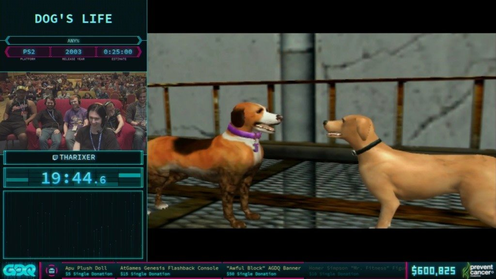 AGDQ 2018 Dogs Life