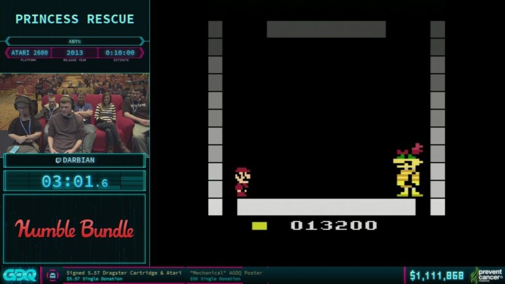 AGDQ 2018 Princess Rescue