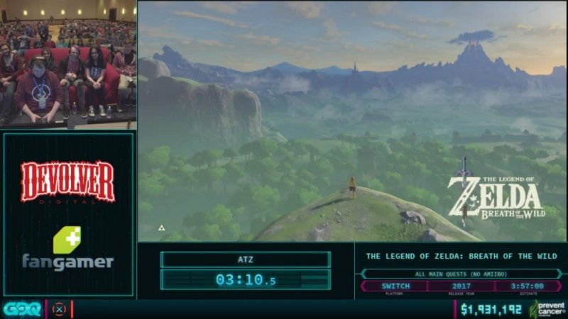 AGDQ 2018 Breath of the Wild