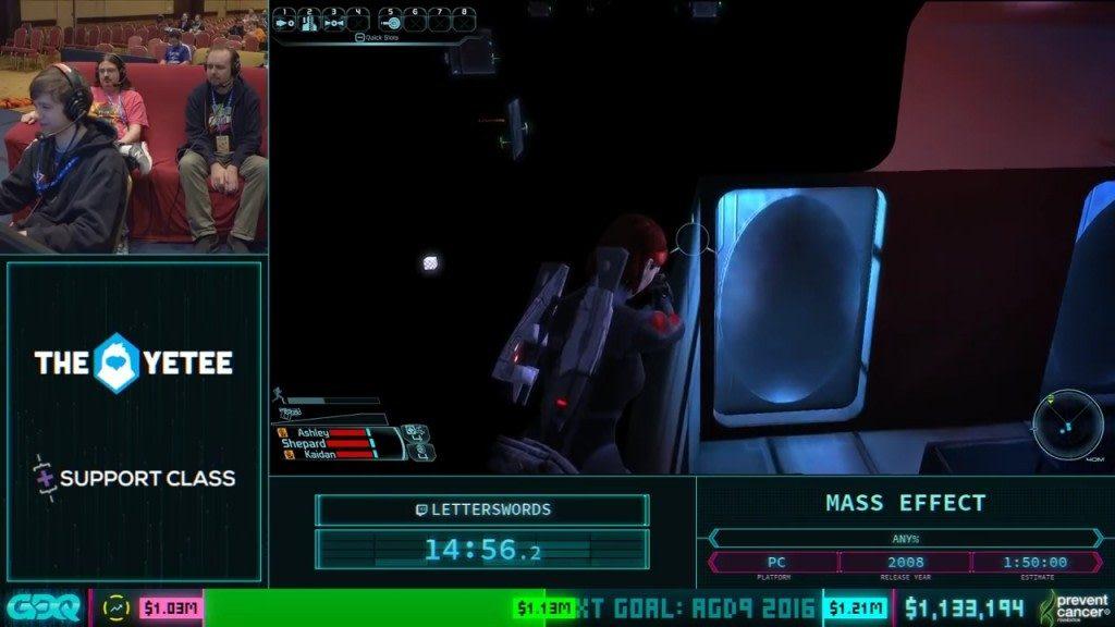AGDQ 2018 Mass Effect