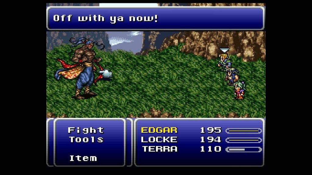 Final Fantasy VI Off with ya now!