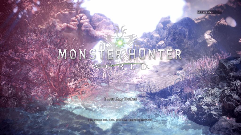 Monster Hunter World Title