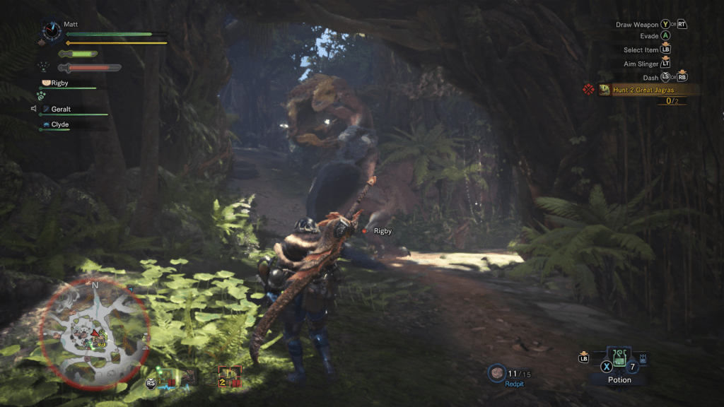 Monster Hunter Anjanath