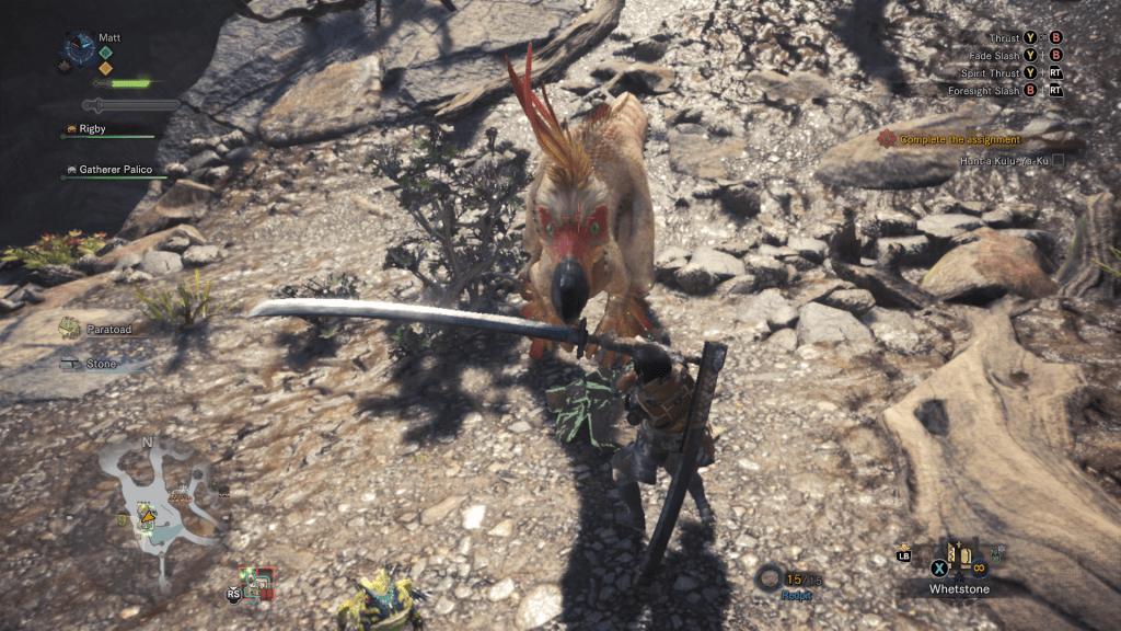 Monster Hunter Long Sword