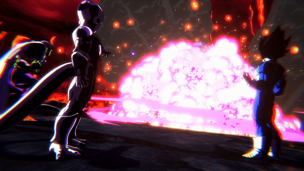 Dragonball FighterZ blast