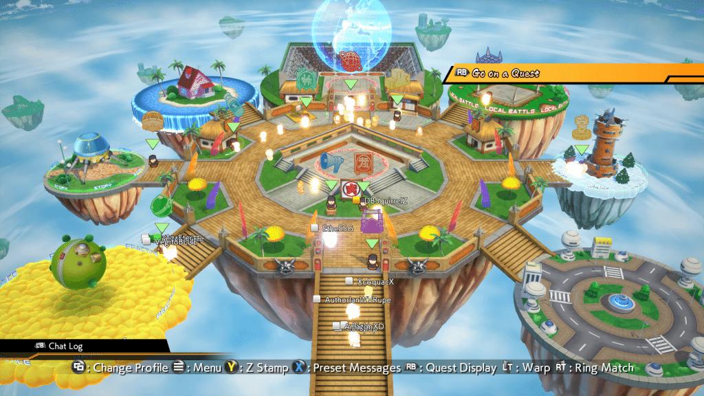 Dragonball FighterZ Hub