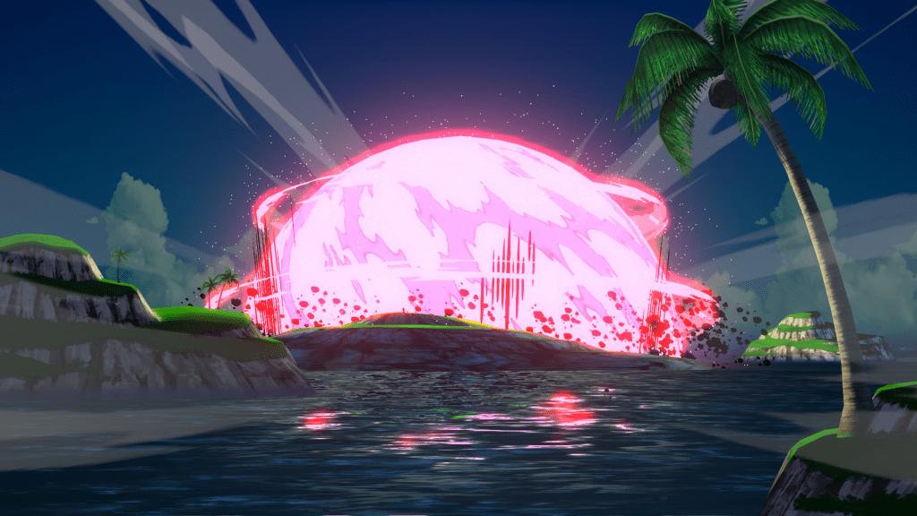 Dragonball FighterZ bomb