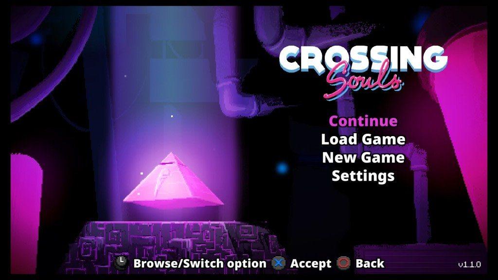 Crossing Souls Title