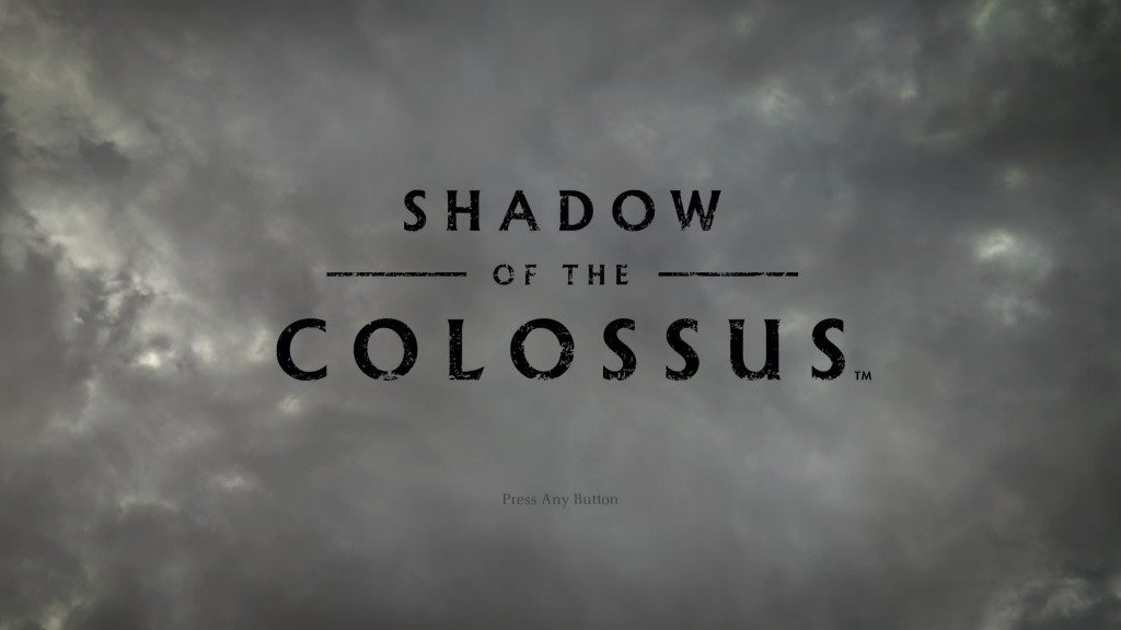 Shadow of the Colossus Title
