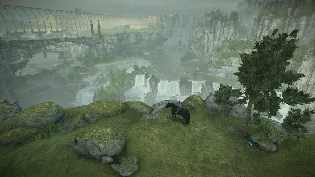 Shadow of the Colossus map