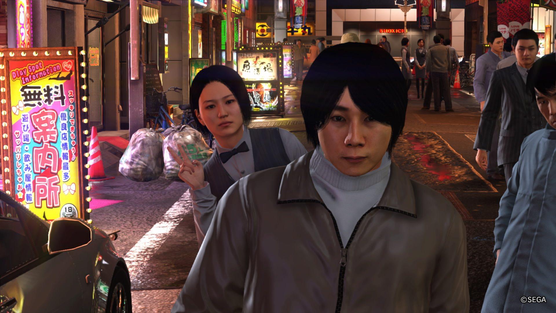 Yakuza 6 Pedestrians