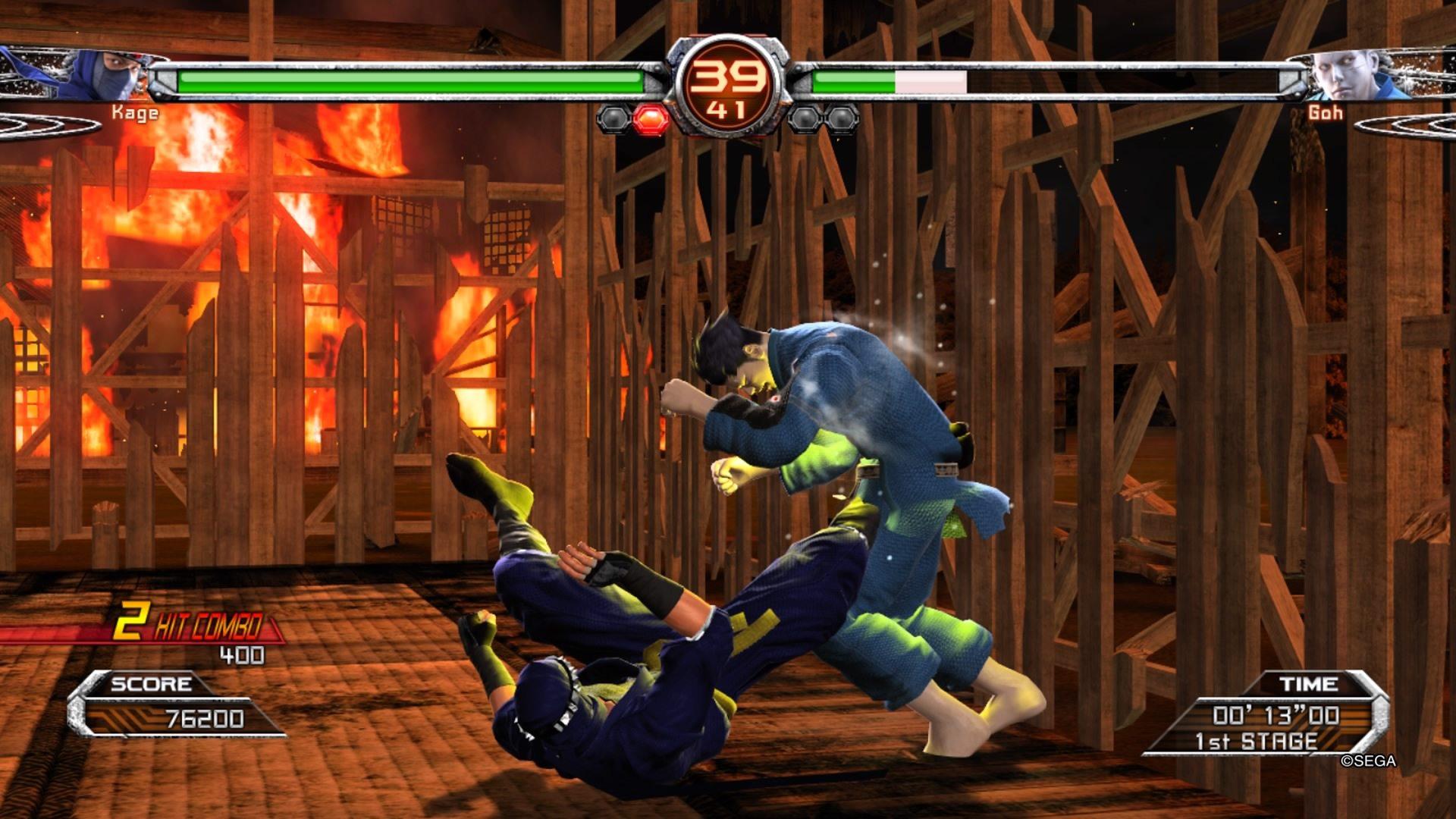 YAKUZA 6 Virtua Fighter