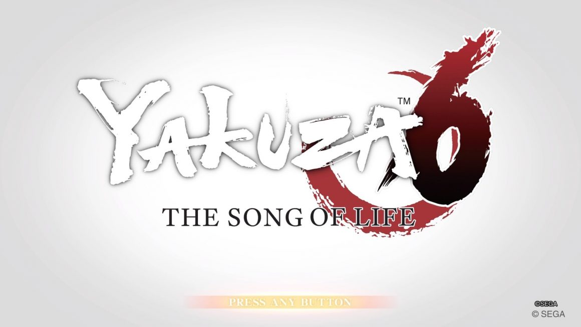 YAKUZA 6 Title