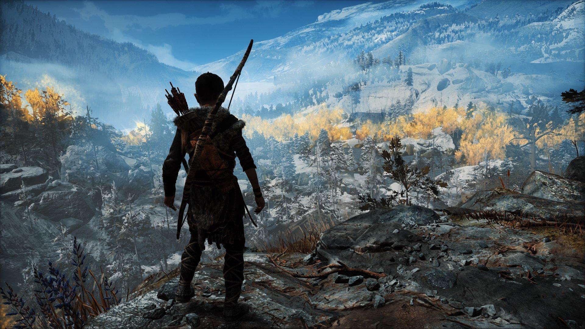 God of War Cliff