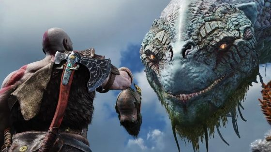 God of War Snake