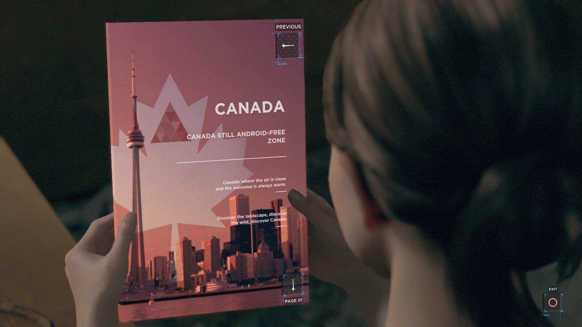 Detroit: Become Human Canada