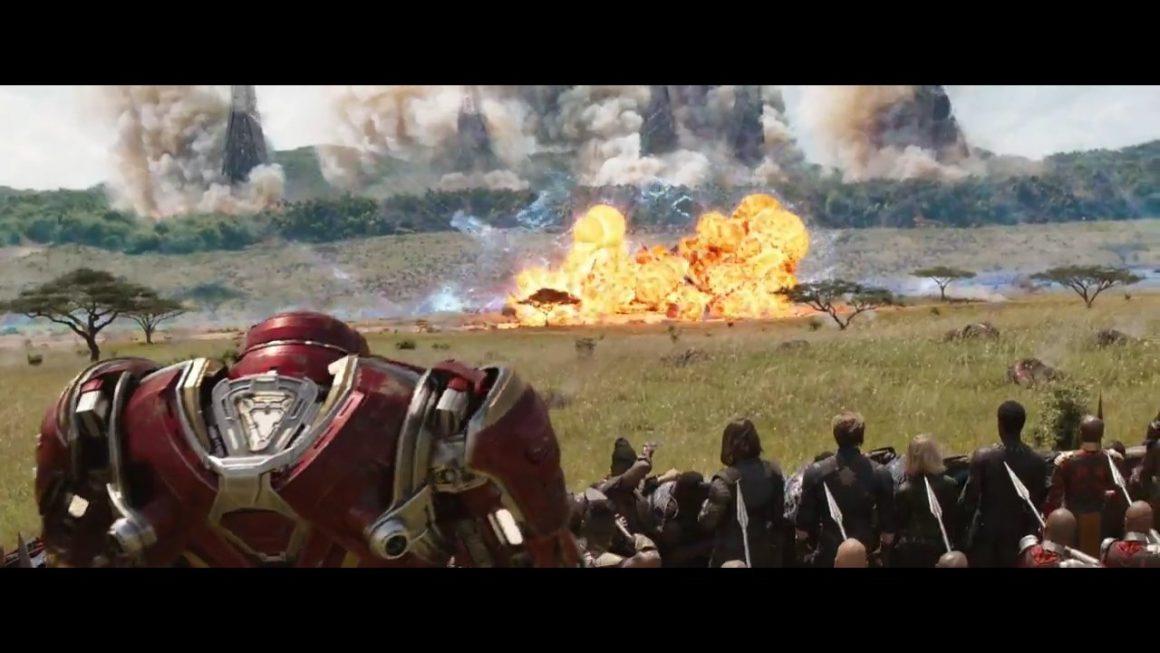 Infinity War Ending Fight