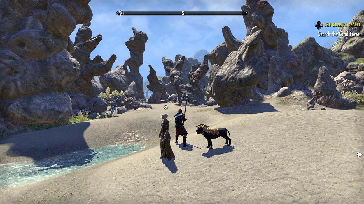 Elder Scrolls Online Summerset Beaches