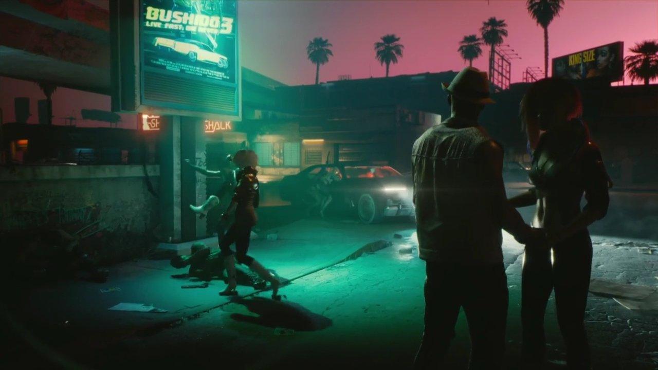 Cyberpunk 2077 E3 2018 2