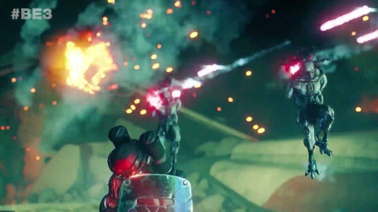 Rage 2 gameplay e3 2018