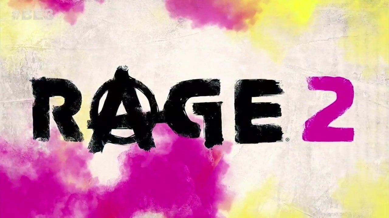 Rage 2 E3 2018 title
