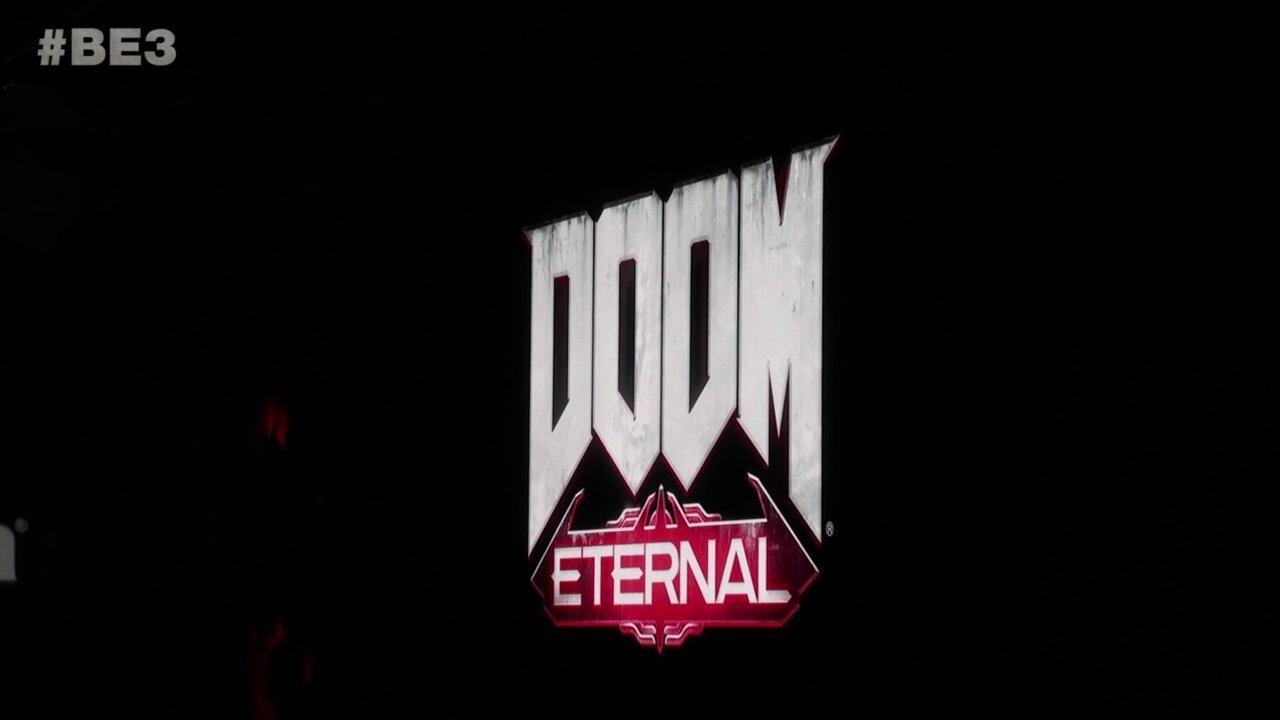 DOOM Eternal E3 2018 title
