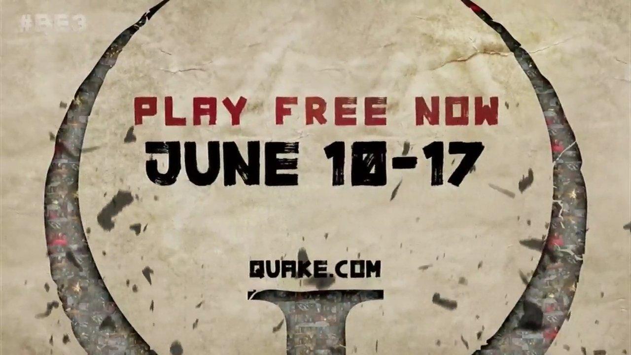 Quake Champions E3 2018 play now