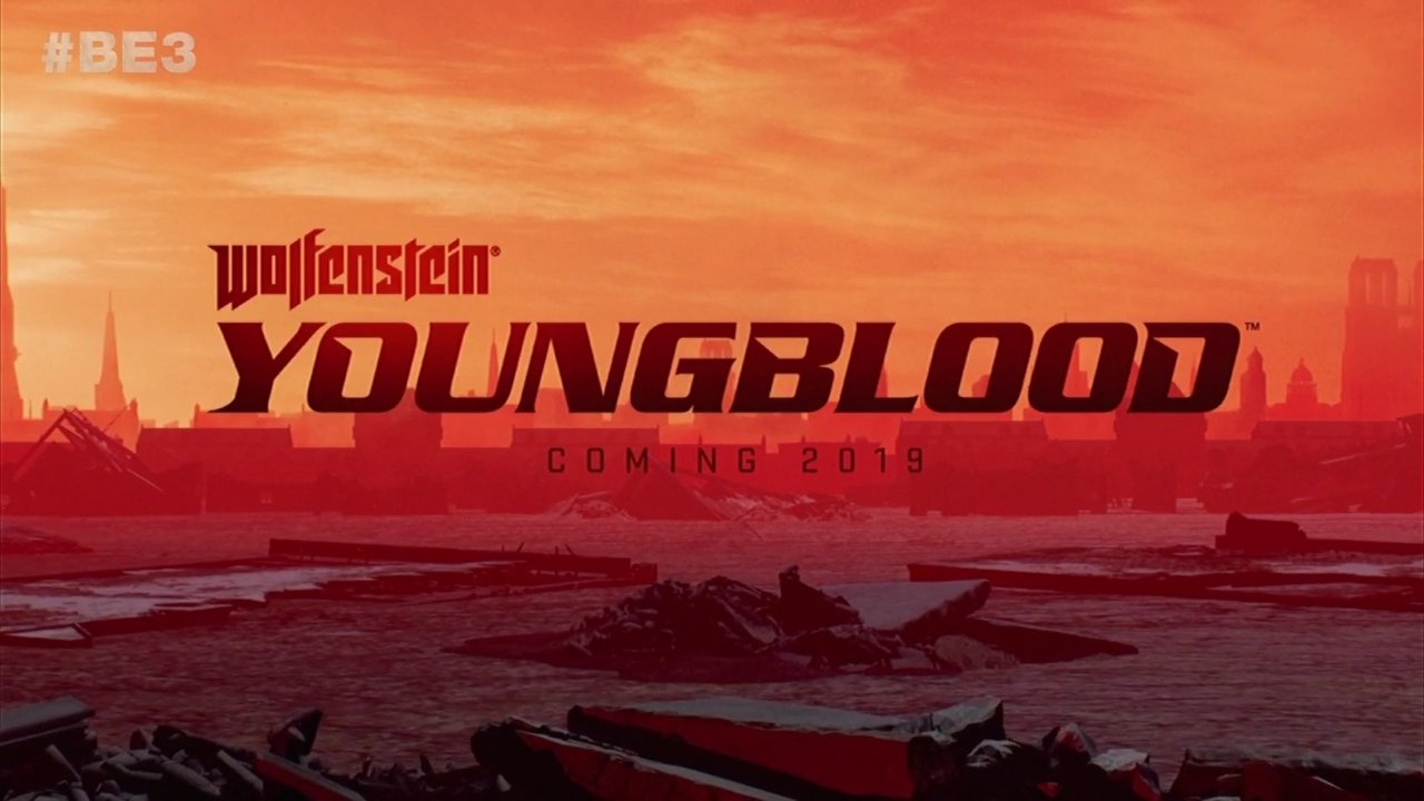Wolfenstein Youngblood E3 2018 title